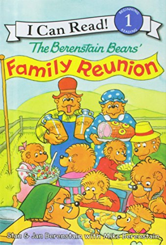 9781439593561: The Berenstain Bears' Family Reunion (I Can Read. Level 1)