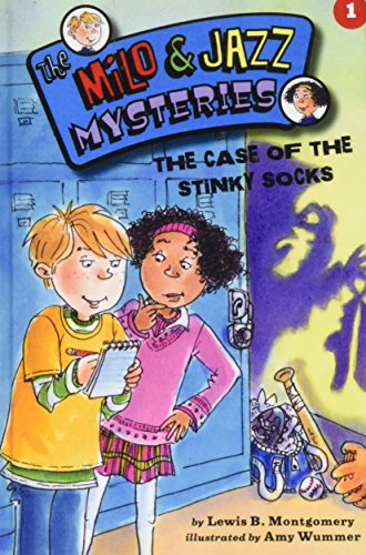 9781439597224: The Case of the Stinky Socks (The Milo and Jazz Mysteries)