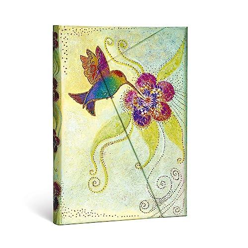 9781439711422: Paperblanks Laurel Burch Kolibri - Cuaderno (tamaño mediano, a rayas)