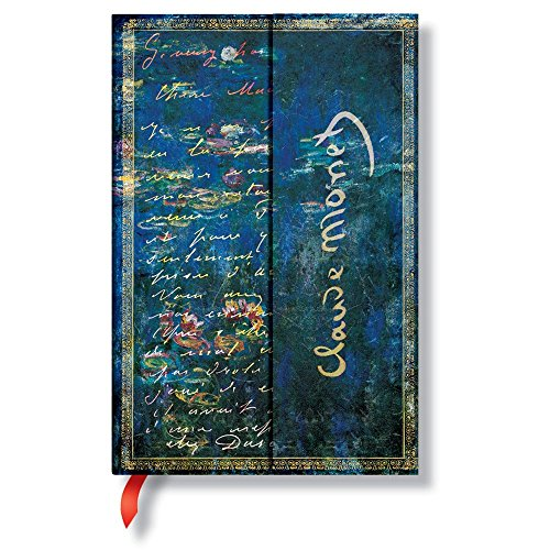 9781439712092: Monet Water Lilies Letter to Morisot Lined Midi Journal