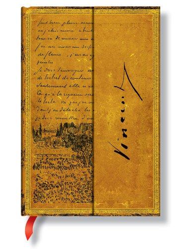9781439714218: Diario Manuscritos bellos: Van Gogh, Bosquejo en Carta. Mini (Paperblanks)