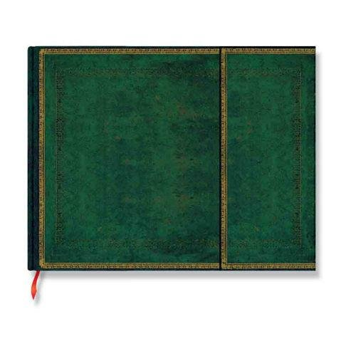 9781439714324: Guest Book Jade Green Faux Leather By Paperblanks