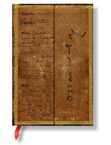 9781439716465: Diario Manuscritos bellos: Oscar Wilde, La Importancia de Llamarse Ernesto. Mini