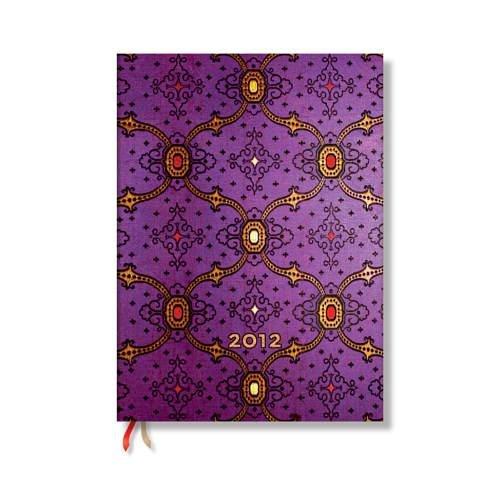 9781439718674: Agenda 2012. Seda francesa violet. Micro. (12 Meses Por días)
