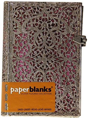 9781439719312: Silver Filigree Mini Notebook