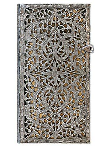 9781439719336: Silver Filigree Slim Notebook (Natural)