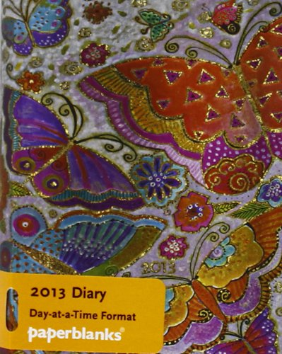 9781439719879: 2013 Flutterbyes Micro Diary (Paperblanks Diaries)