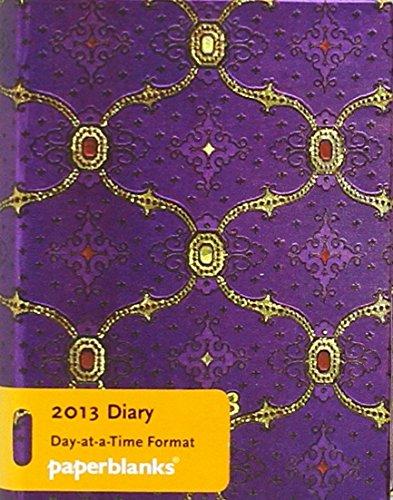 9781439719886: Agenda 2013. Seda Francesa Violet. Micro. (Por Dias) (Paperblanks Diaries)