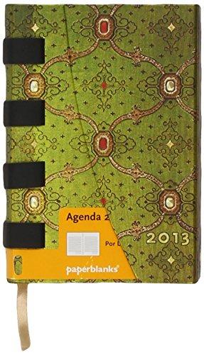9781439719947: Agenda 2013. Seda Francesa Vert. Mini (Por Días) (Paperblanks Diaries)