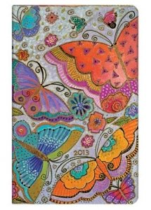 9781439721278: Flutterbyes 2013 Diary (Paperblanks Diaries)