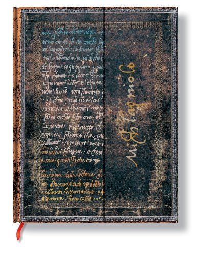 9781439721735: Michelangelo, Handwriting Ultra Lined Journal (Embellished Manuscripts)