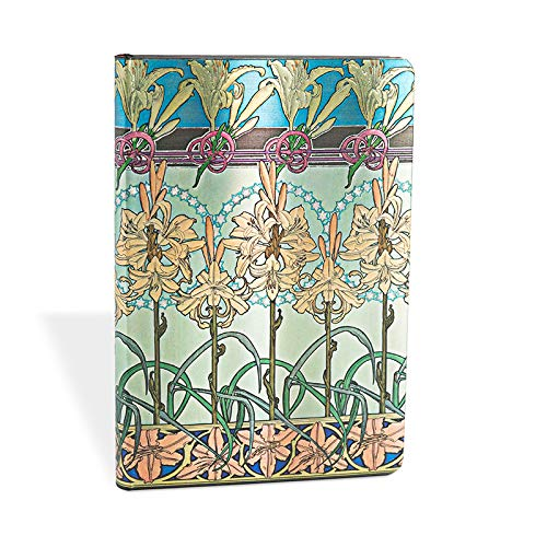 9781439721834: MUCHA TIGER LILY NOTEBOOK MINIO