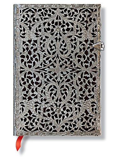 9781439721872: Paperblanks Collection Filigrane Argenté Carnet de note Ligné 240 pages Ombre