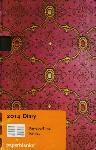 9781439723524: French Ornate Fuchsia 2014 Diary Mini (Day-at-a-Time)