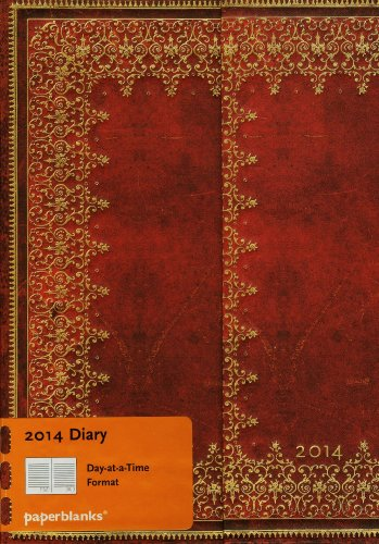 9781439724149: Foiled 2014 Diary Midi (Day-at-a-Time)