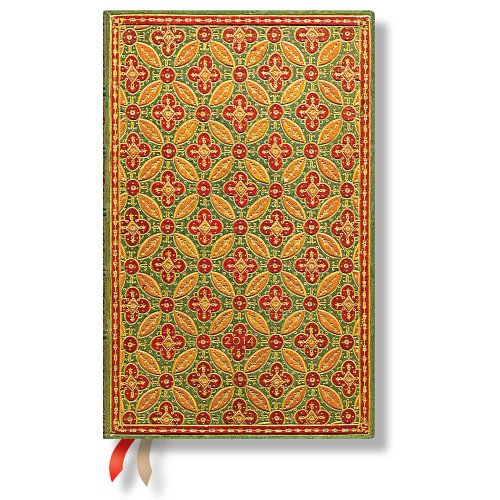 9781439724590: Mosaique - Paperblanks 2014 Weekly Planner (Maxi 5.25 x 8.25 Horizontal)