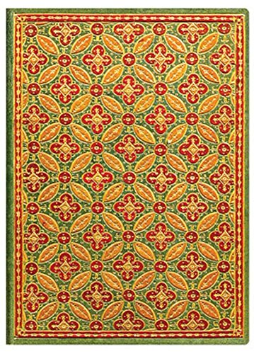 9781439725993: Paperblanks Parisian Mosaic Journals Mosaique Safran Mini, 3 3/4 in. x 5 1/2 in. 176 pages, unlined
