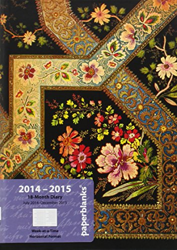 9781439726365: Filigree Floral Ebony (2015 Diaries 18month)
