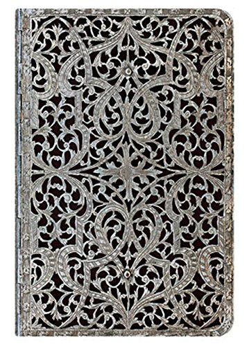 9781439726457: Address Book, Silver Filigree Shadow, Mi (Paperblanks)