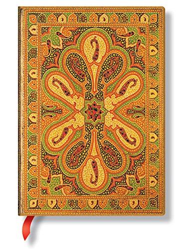 9781439726648: Paperblanks Bukhara Amber Midi Carnet de note Ligné