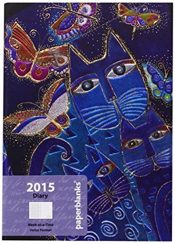 9781439727522: Blue Cats Butterflies (2015 Diaries)