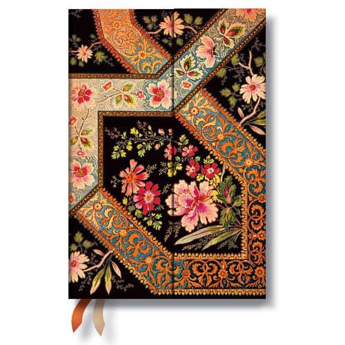 9781439727614: Agenda PAPERBLANKS Filigrane Floral Ébène format Mini 95 x 140 mm - 1 jour par page