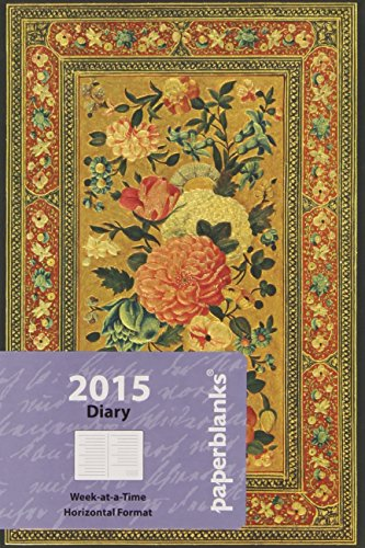 9781439727720: 2015 Glowing Rose Mini Horizontal (2015 Diaries)