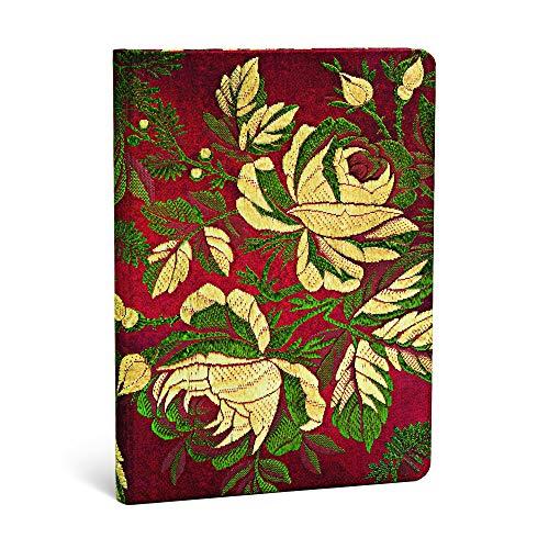 9781439729601: Paperblanks Chic et Satin Rose Cr�puscule Midi Carnet de note Lign� 176 pages Multicolore