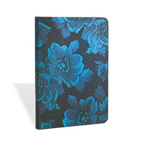 9781439729618: Blue Muse Mini Lined Notebook (Chic & Satin) (Multilingual Edition)
