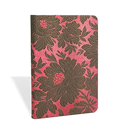 9781439729632: Black Dahlia Mini Lined Notebook (Chic & Satin)
