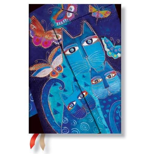 9781439730591: 2016 Blue Cats Butterflies (Midi)