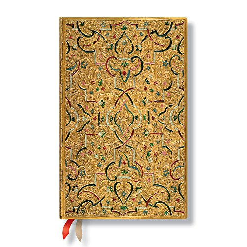 9781439731024: Agenda PAPERBLANKS Marqueterie d'Or format Maxi 135x210 mm - 1 semaine sur 2 pages vertical