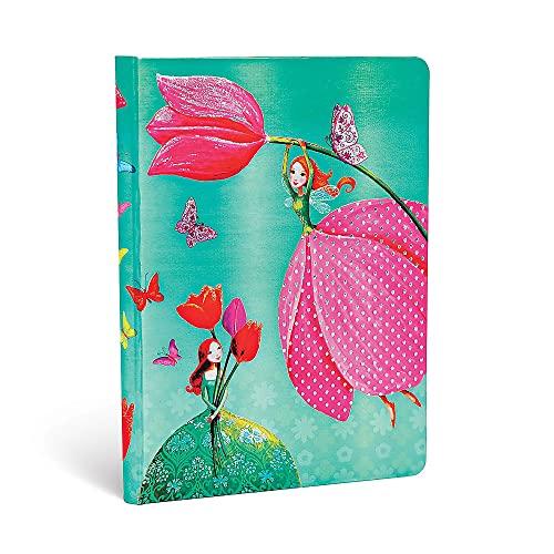 Paperblanks Mila Marquis Ruled Midi Notebook- Joyous Springtime: Lin.