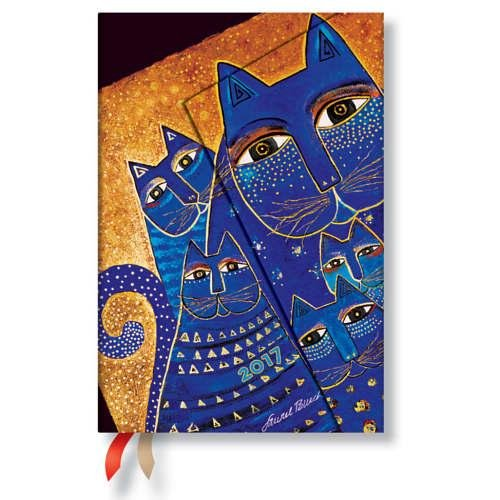9781439733752: Paperblanks Calendar The Mediterranean Cats Mini 2017 Verso German Edition