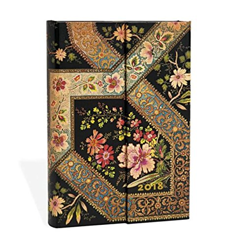 2018 Filigree Floral Ebony (2018 Diaries): 2018 Diaries