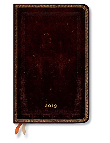 Black Moroccan Maxi 2019 Hor (12 Month): Paperblanks