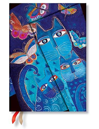 9781439751350: Blue Cats & Butterflies Midi 2019 (12 Month)
