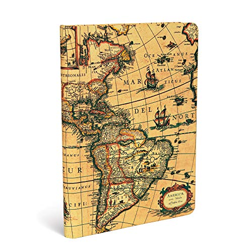 Western Hemisphere Journal: Lined Midi (Early Cartography): Hartley & Marks