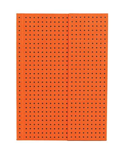 9781439790243: Notatnik A6 Paper-oh Circulo Orange on Grey w linie