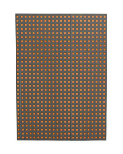 9781439790694: Zeszyt B6 Paper-oh Quadro gladki 56 kartek Grey on Orange