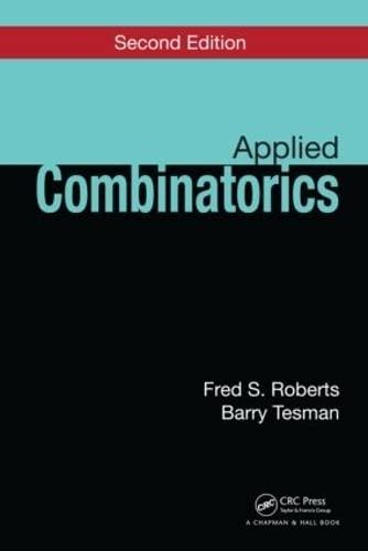 9781439800676: Applied Combinatorics, Second Edition