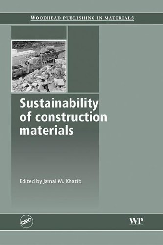 9781439801307: Sustainability of Construction Materials (Woodhead Publishing in Materials)