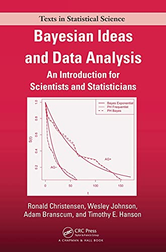 9781439803547: Bayesian Ideas and Data Analysis: An Introduction for Scientists and Statisticians (Chapman & Hall/CRC Texts in Statistical Science)
