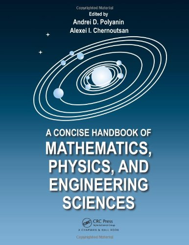 9781439806395: A Concise Handbook of Mathematics, Physics, and Engineering Sciences