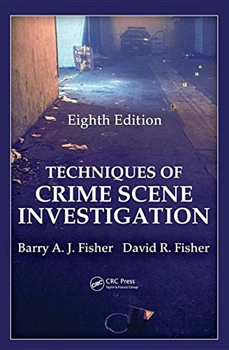 9781439810064: Techniques of Crime Scene Investigation