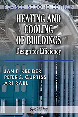 9781439811511: Heating and Cooling of Buildings: Design for Efficiency, Revised Second Edition (Mechanical and Aerospace Engineering Series)