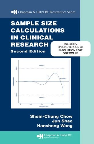9781439813591: Sample Size Calculations in Clinical Research, Second Edition N-Solution bundle version (Chapman & Hall/CRC Biostatistics Series)