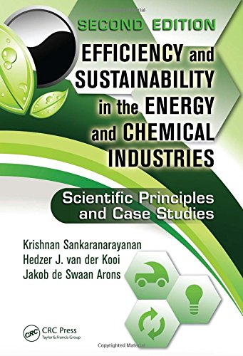 9781439814703: Efficiency and Sustainability in the Energy and Chemical Industries: Scientific Principles and Case Studies, Second Edition (Green Chemistry and Chemical Engineering)