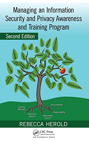 9781439815458: Managing an Information Security and Privacy Awareness and Training Program