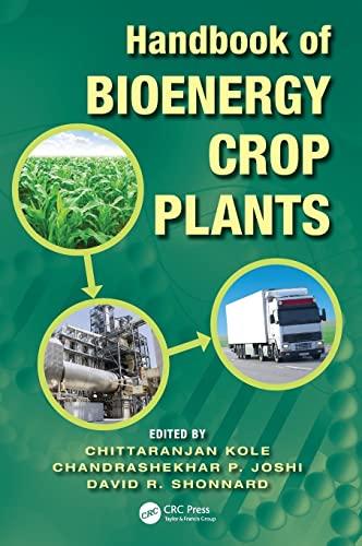 9781439816844: Handbook of Bioenergy Crop Plants